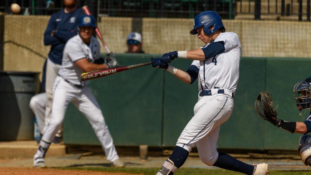 Baseball Falls 12-3 to Navy