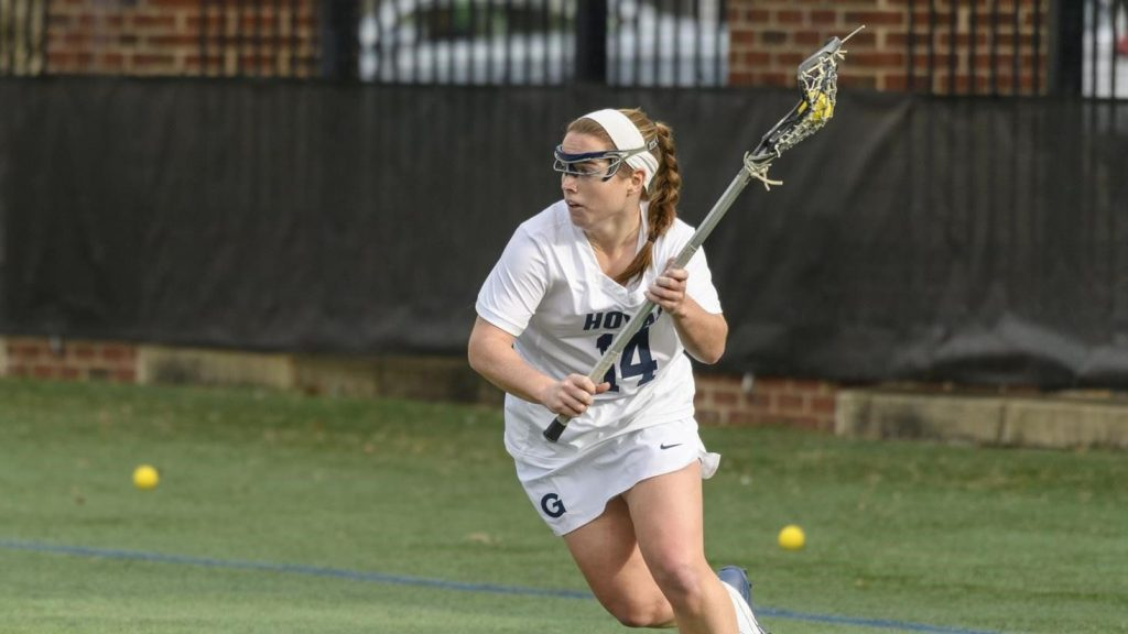 No. 20 Women's Lacrosse Overwhelms GW at Home
