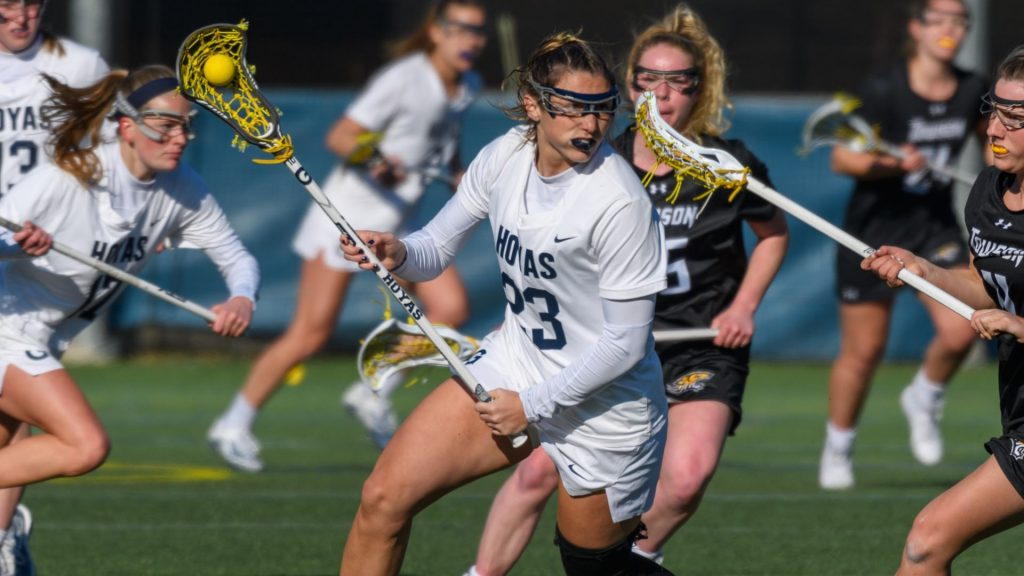 No. 18 Denver Outlasts Women's Lacrosse at Cooper Field