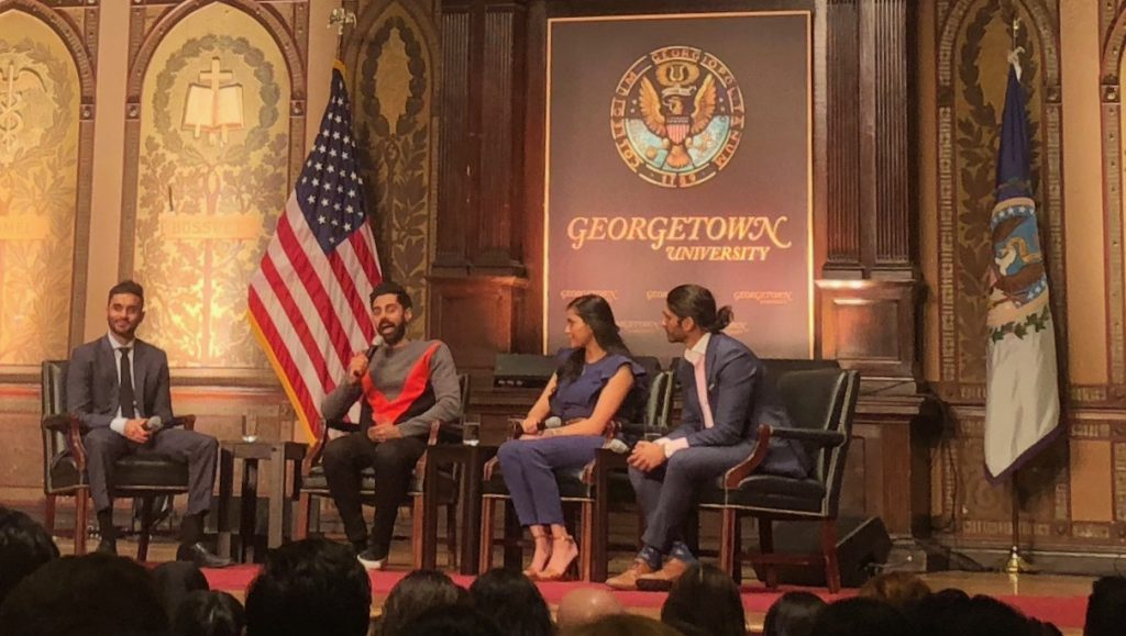 Hasan Minhaj Discusses Diversity, Career in Gaston Hall