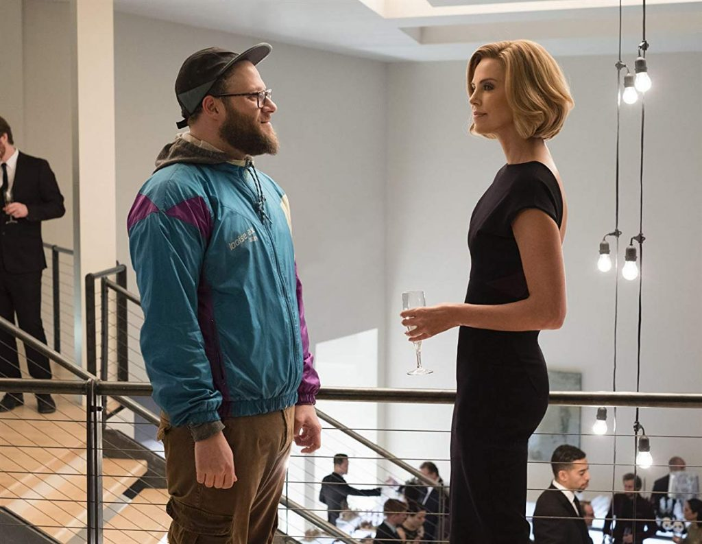 1b43a91b Long Shot: Seth Rogen and Charlize Theron Shine in Timely Rom-Com