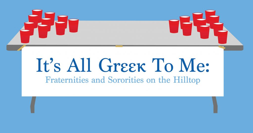 It's All Greek to Me: Fraternities and Sororities on the Hilltop