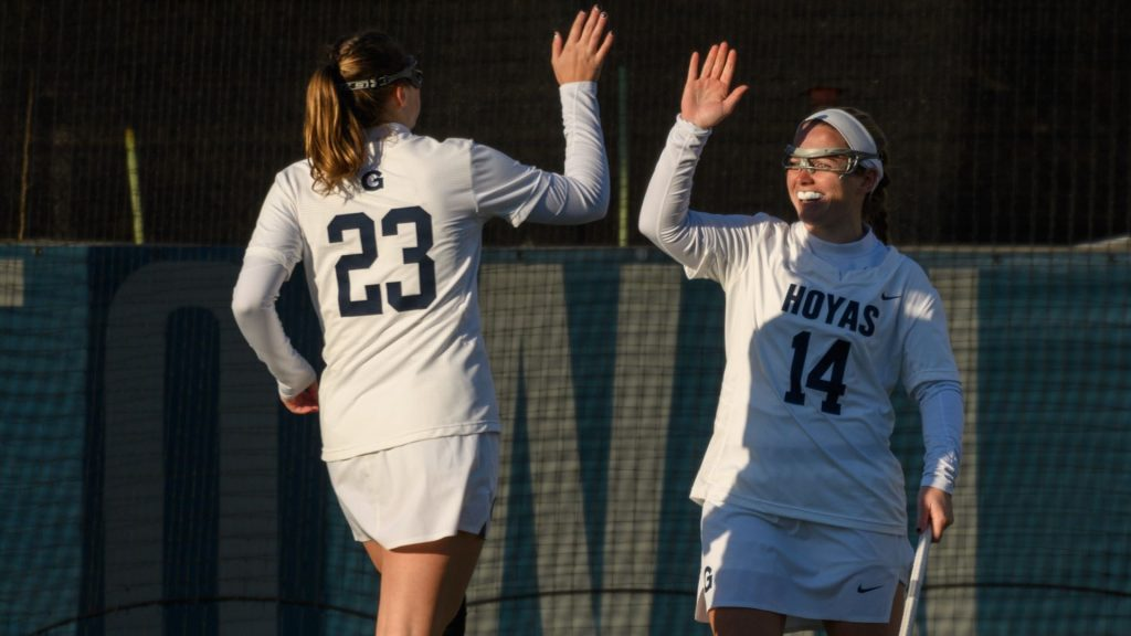 Women's Lacrosse Downs Villanova