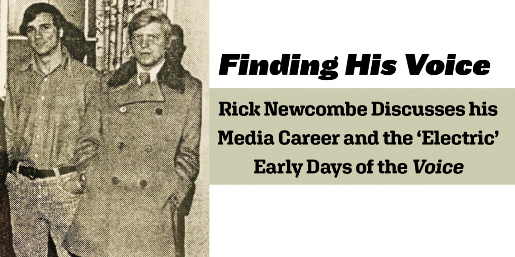 Finding His Voice: Rick Newcombe Discusses his Media Career and the 'Electric' Early Days of the Voice