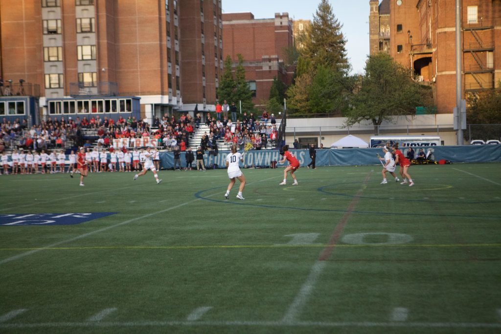 No. 24 Women's Lacrosse Overwhelmed in Shocking 2nd Half