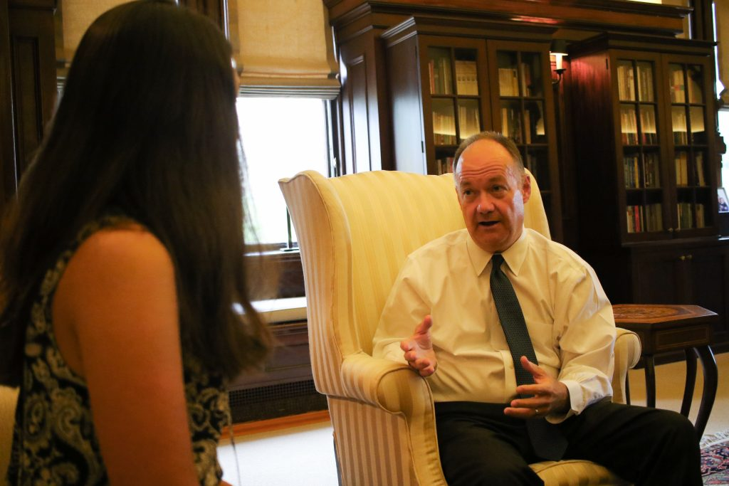 On The Record: President DeGioia On Campus Sexual Assault, the GU272, and More
