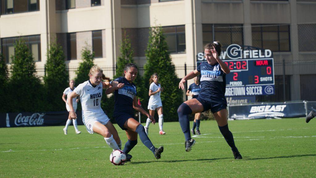 Women's Soccer Suffers Rare Home Loss
