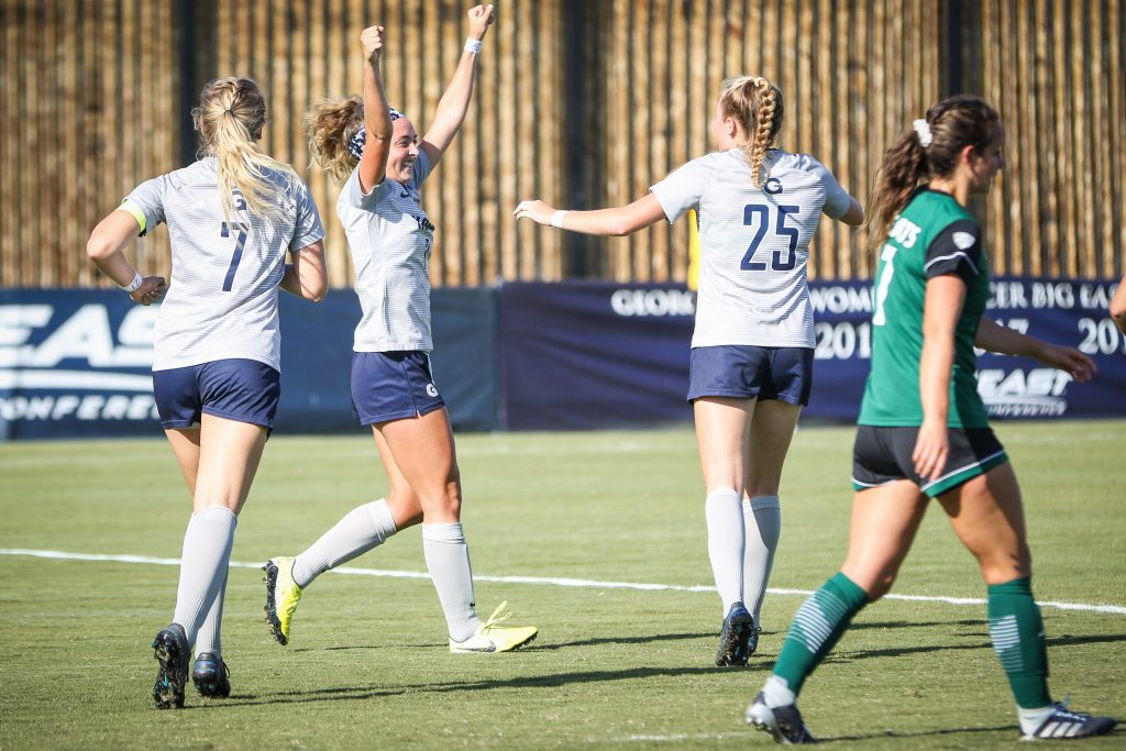 No. 12 Women's Soccer Routs Ohio University 7-0 in Final Non-Conference Matchup