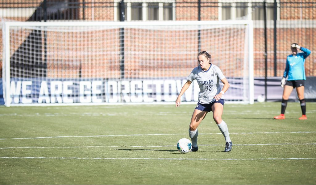 Women's Soccer Cruises Past Marquette in Big East Opener