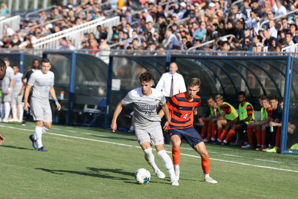 Men's Soccer Looks to Keep Rolling Against Temple