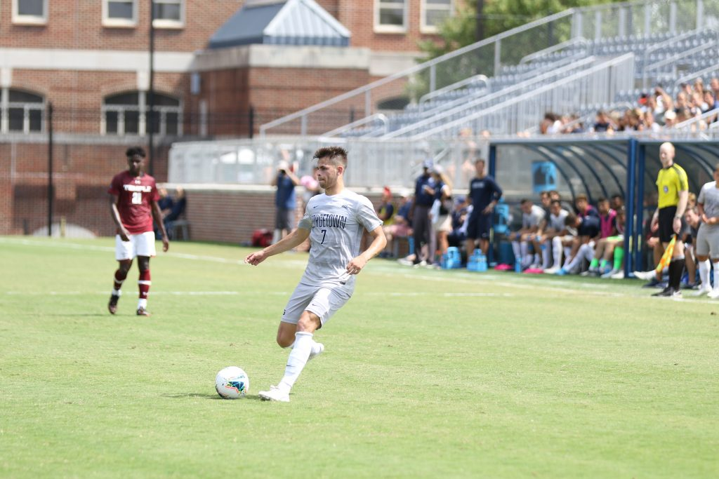 Men's Soccer Stays Undefeated with Victory in Irvine