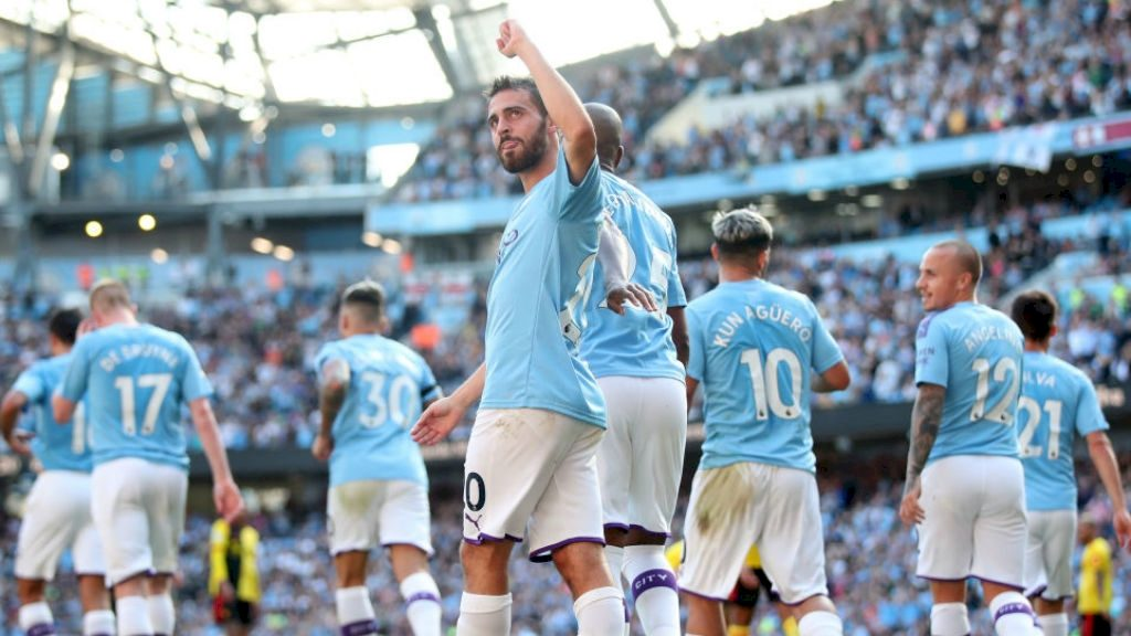 Manchester City Sets New Premier League Record Against Watford