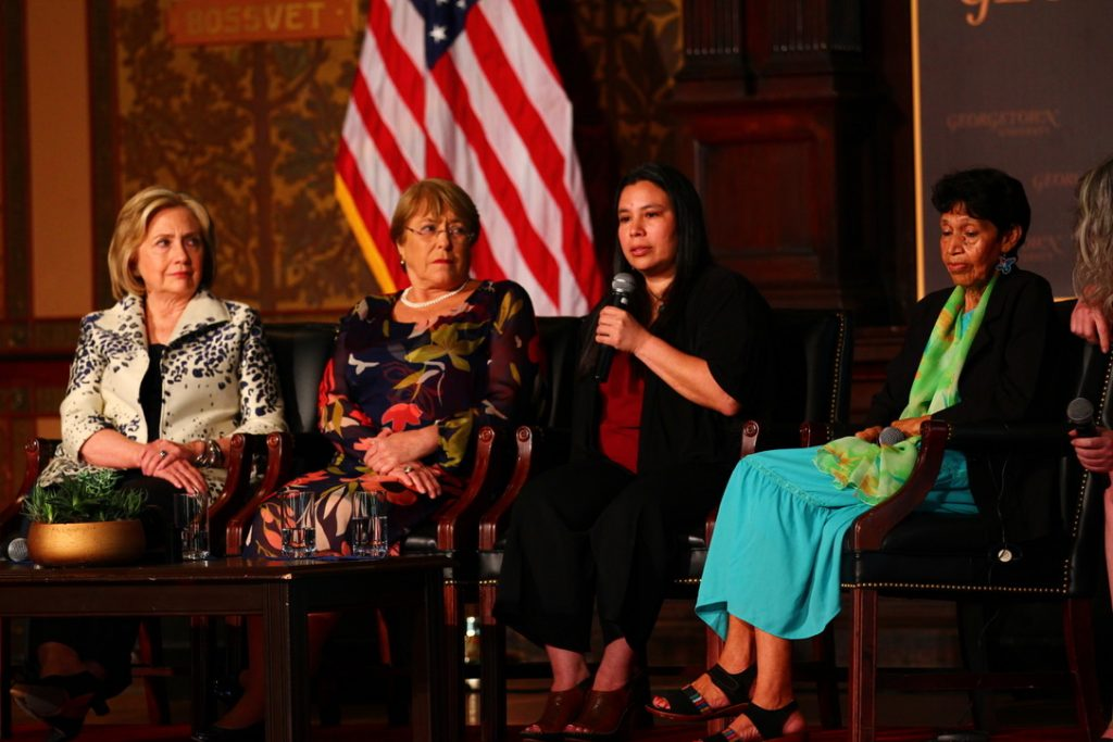 Clinton Honors Female Leaders in Peace and Security