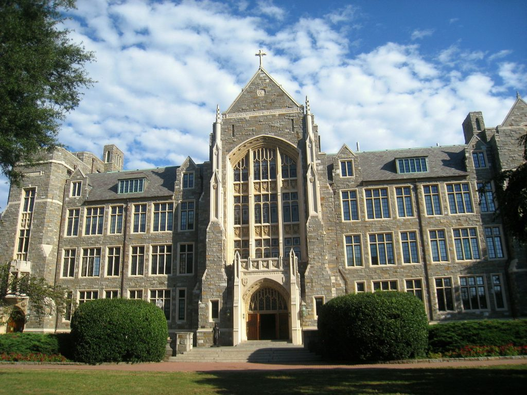 Make Georgetown Admissions Test-Optional