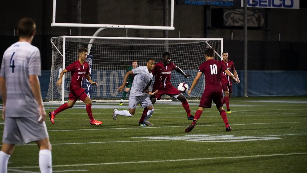 Men's Soccer Suffers First Loss to Louisville in Overtime