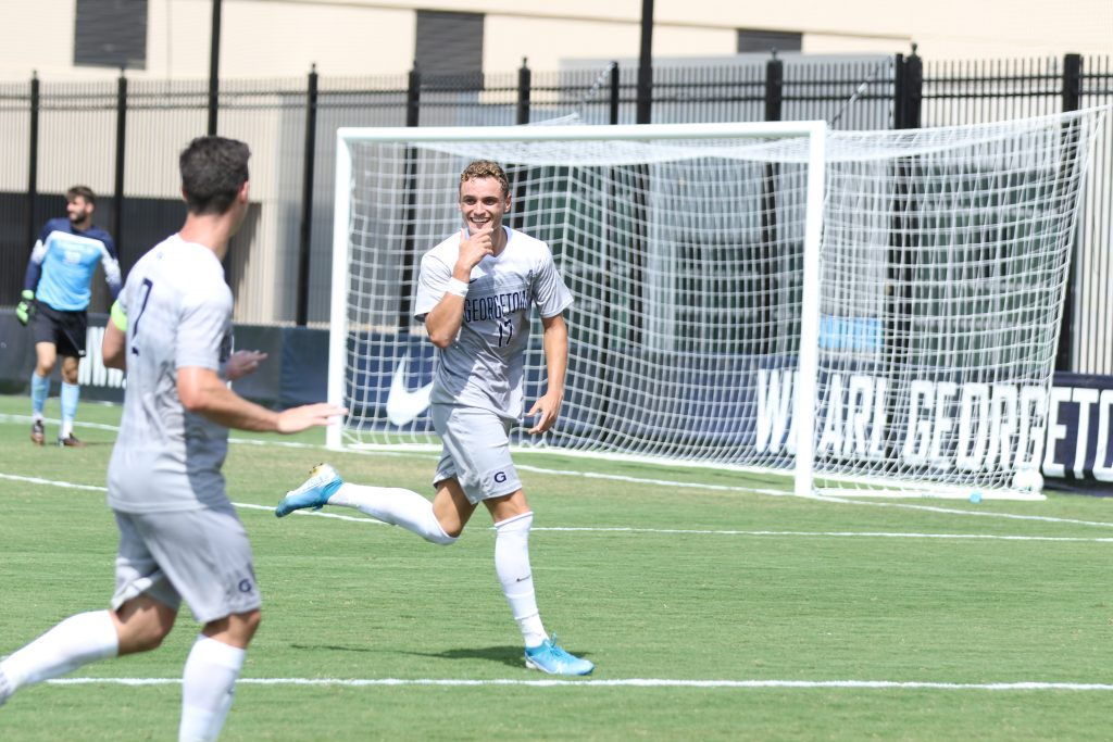 Men's Soccer Handily Disposes of Temple