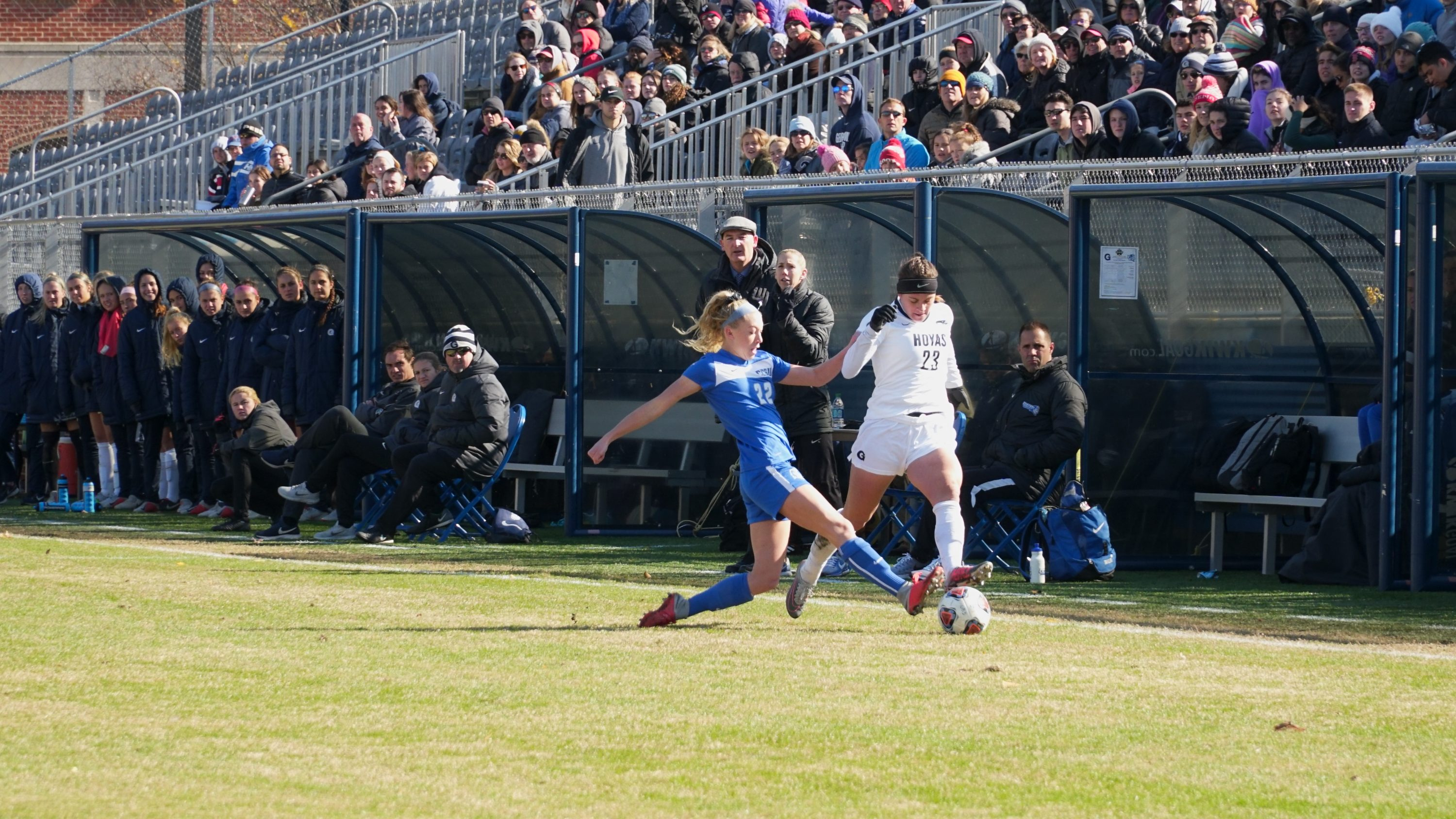 Women's Soccer Rights the Ship Against Bucknell - The