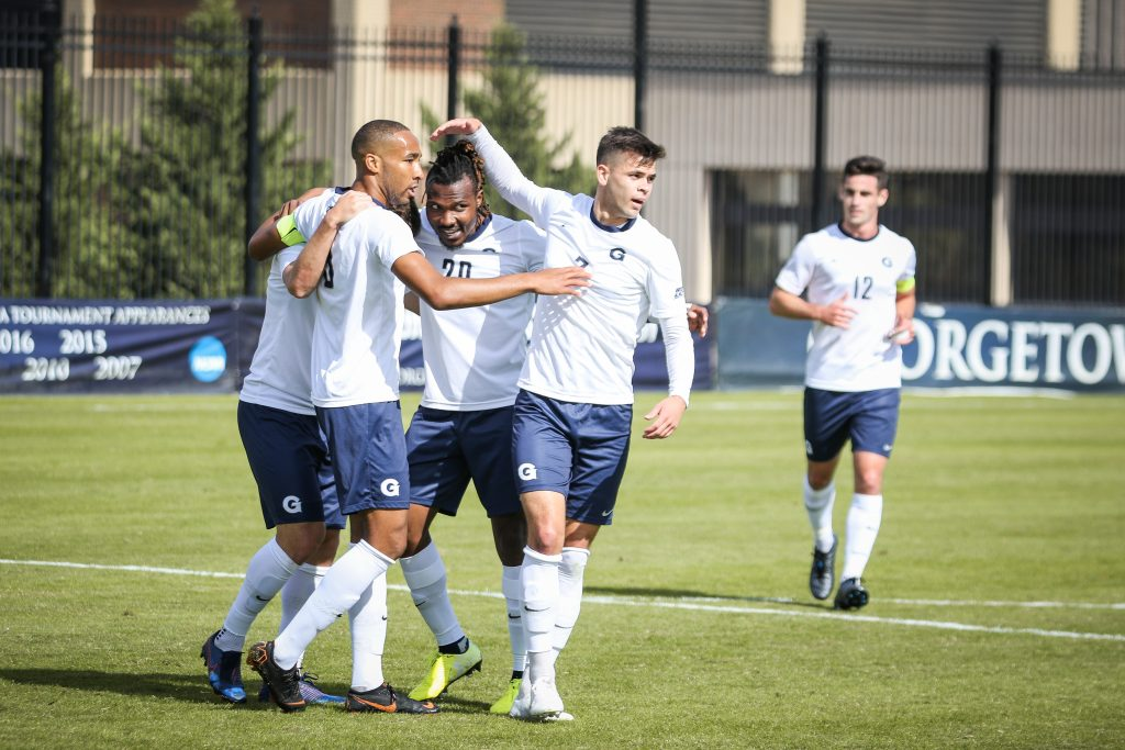 No. 13 Men's Soccer Takes Care of Business Against Xavier
