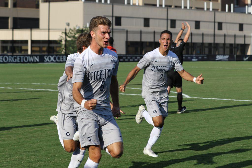 No. 5 Men's Soccer Prepares to Face-off Against DePaul
