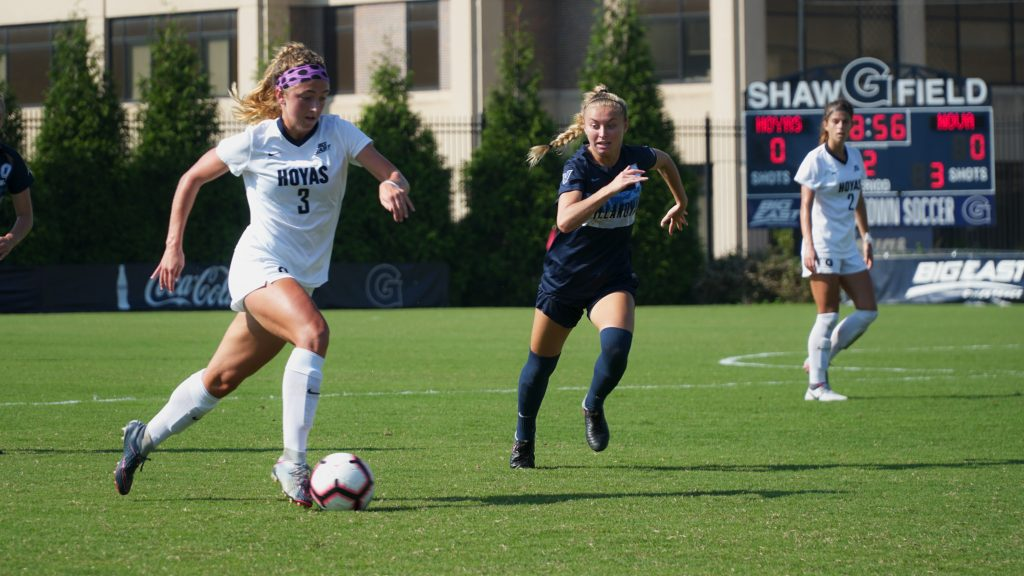 Women's Soccer Strides Past Villanova 2-0, Extends Win Streak to Six