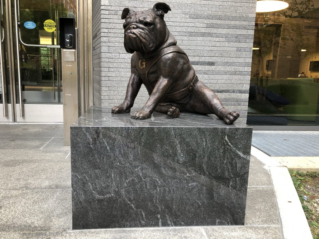 Art Review: Jack the Bulldog Statue Raises Questions Rather Than School Spirit