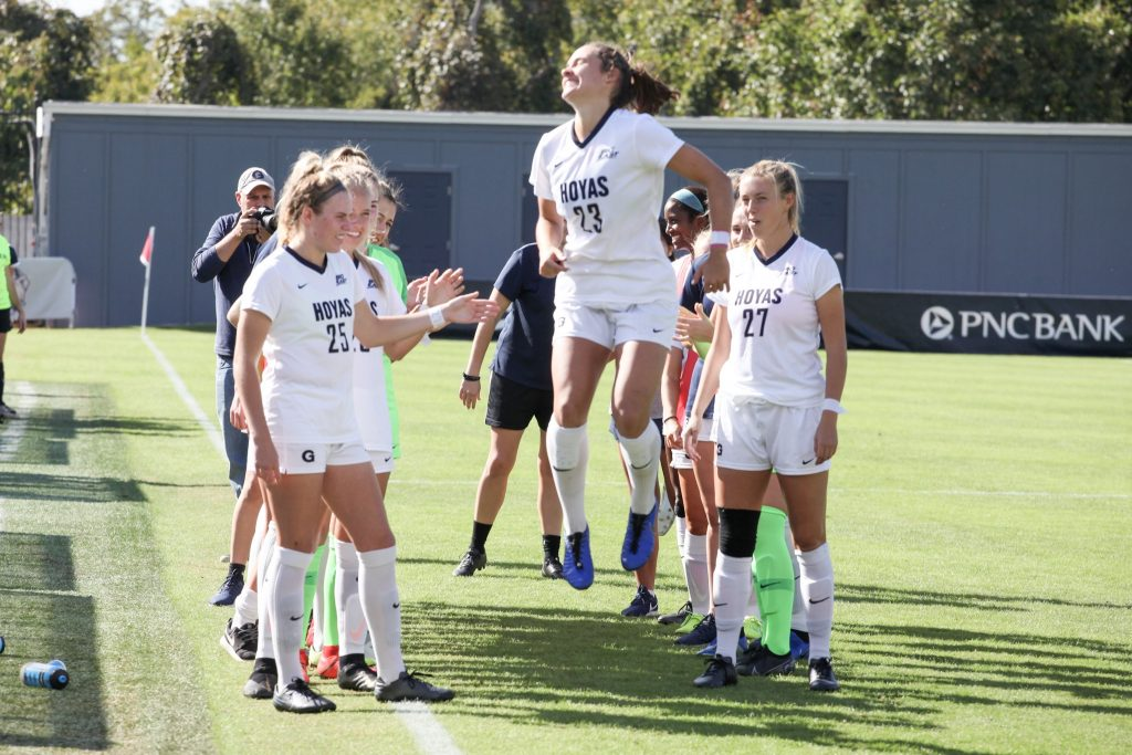 No.  10 Women's Soccer Finishes Homestand Against Creighton