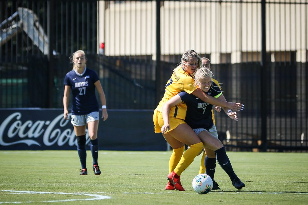 Women's Soccer Can't Stop Scoring, Beats Providence 4-0