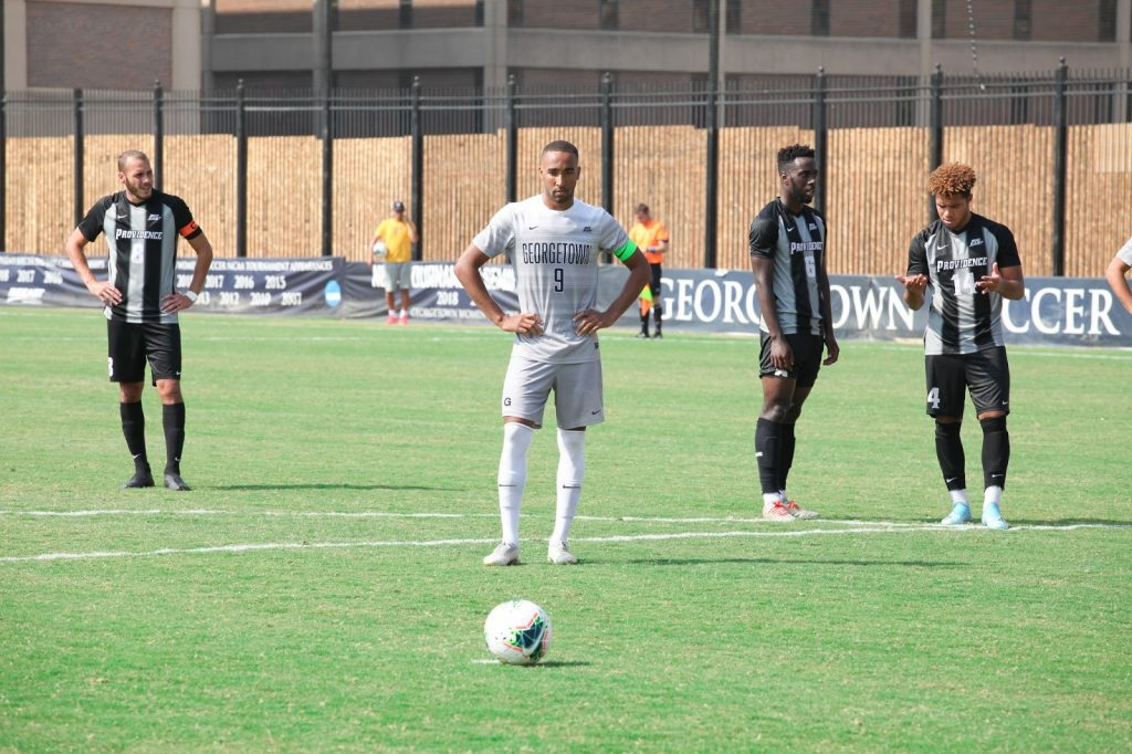 No. 5 Men's Soccer Takes A Break From Conference Play