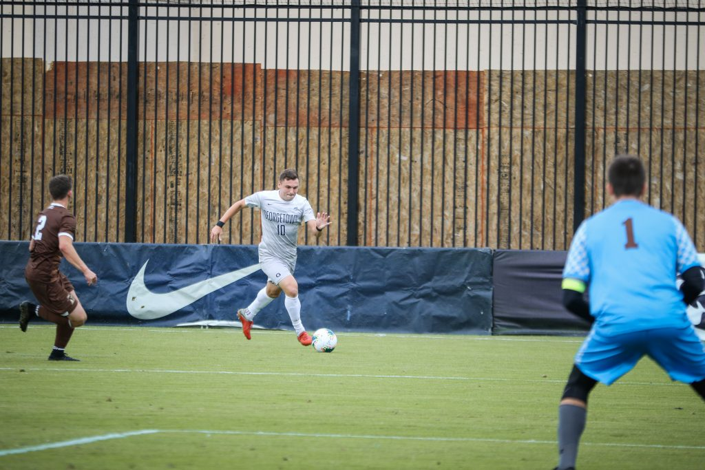 Men's Soccer Grabs Another Big East Victory Against Seton Hall
