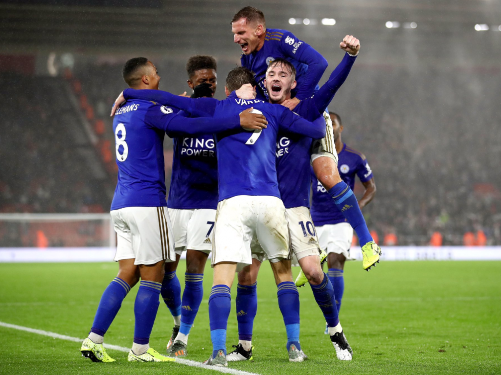 Leicester City Demolish Southampton On A Historic Friday Night