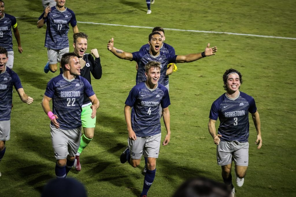 No. 12 Men's Soccer Defeats Reigning National Champions Maryland
