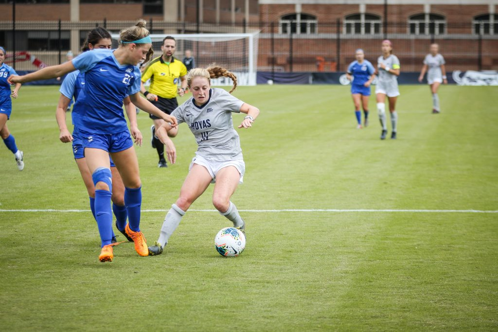 Women's Soccer draws in Double OT Against Butler