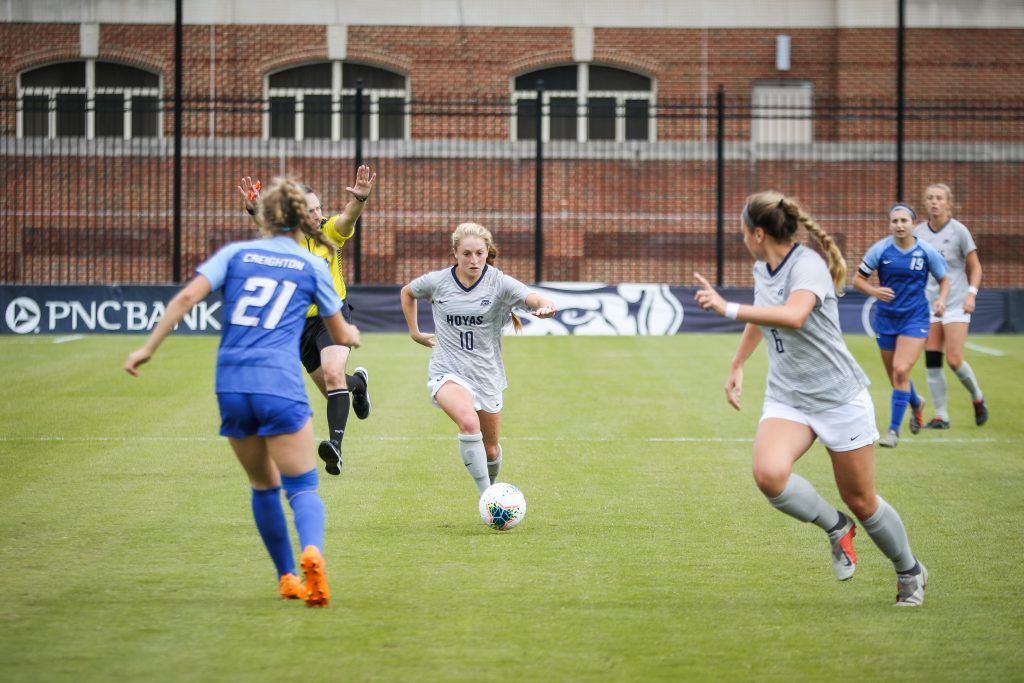 Women's Soccer Looks to Rebound Against Seton Hall at Home