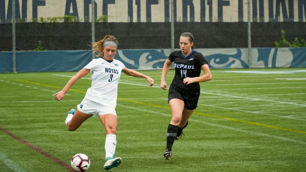 No. 14 Women's Soccer Falls to DePaul in Overtime For First Conference Loss in Two Years