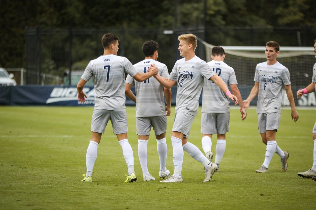 Men's Soccer Hosts Seton Hall on Friday