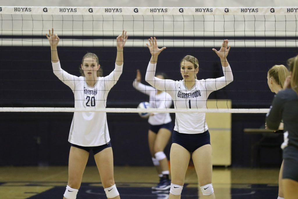 Volleyball Hits The Road For Big East Clash