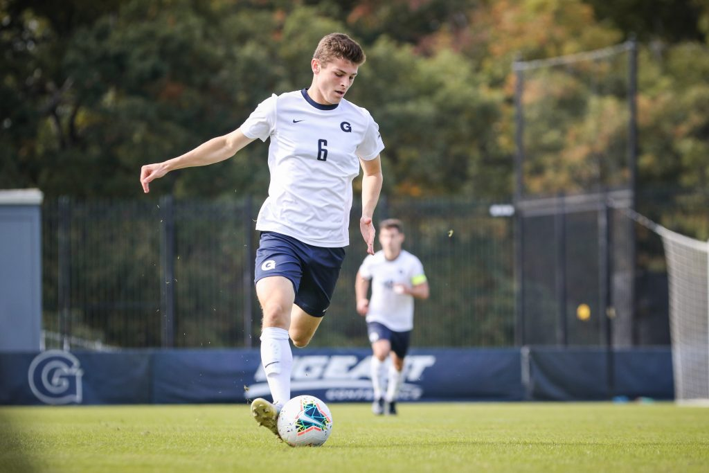 Men's Soccer Rolls Past Marquette 3-0