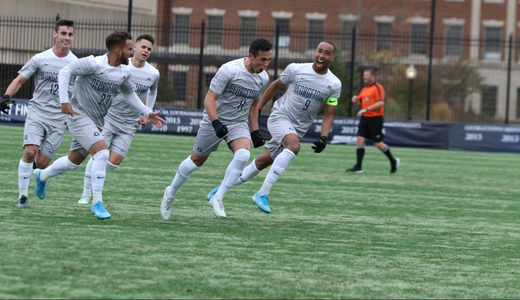 Men's Soccer Triumphs over Providence, Wins Third Straight Big East Championship