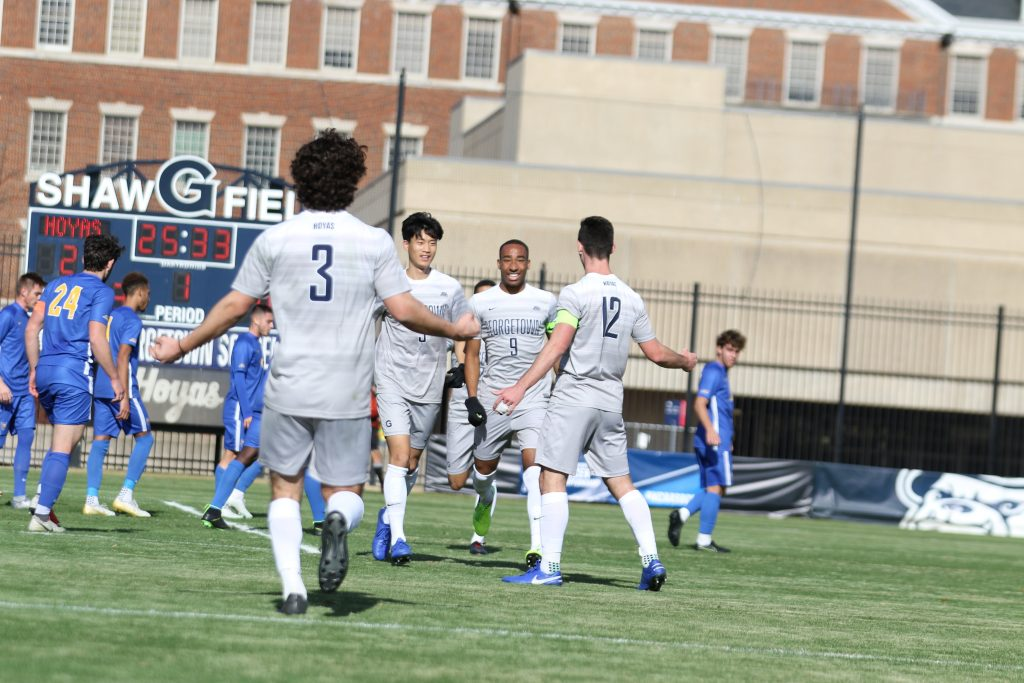 3-seed Men's Soccer Dominates Pitt 5-0 in NCAA Tournament Second Round