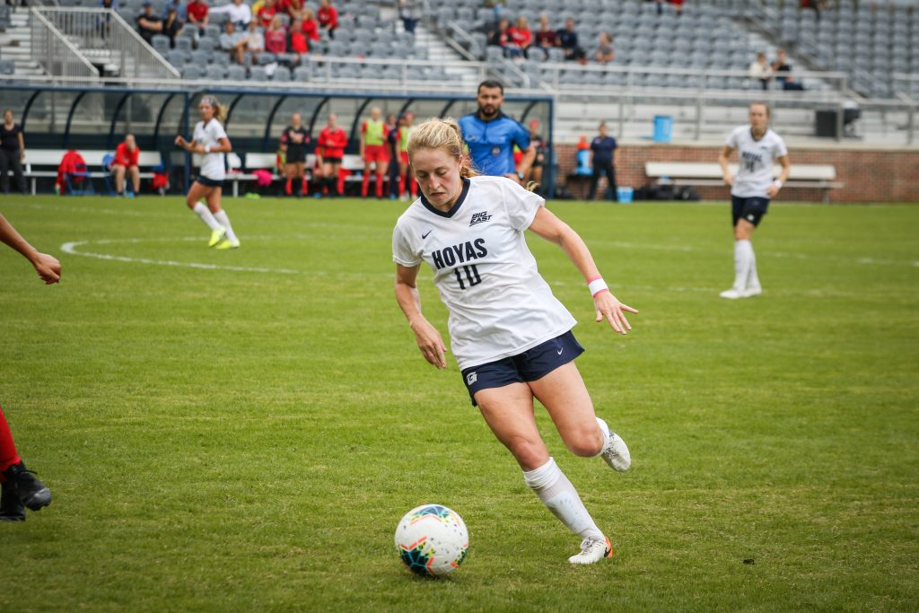 No. 18 Women's Soccer Falters in Big East Championship, Loses 2-0 to Xavier