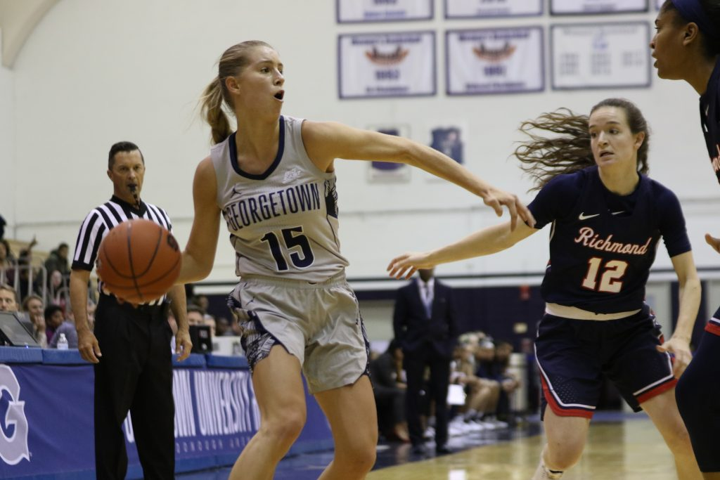 Women's Basketball Loses Heartbreaker to Richmond in Home Opener