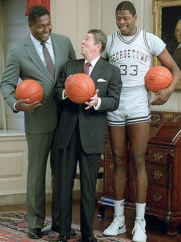 A Comprehensive List of All The Things Patrick Ewing is Taller Than
