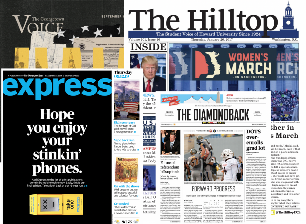 Preserve Print Student Journalism