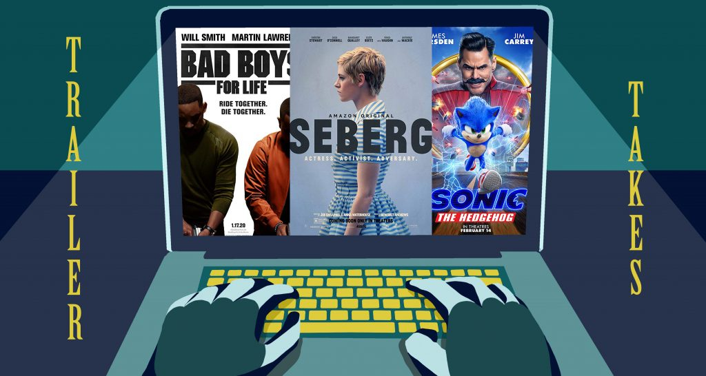 Trailer Takes: <i>Sonic the Hedgehog</i>, <i>Seberg</i>, <i>Bad Boys For Life</i>