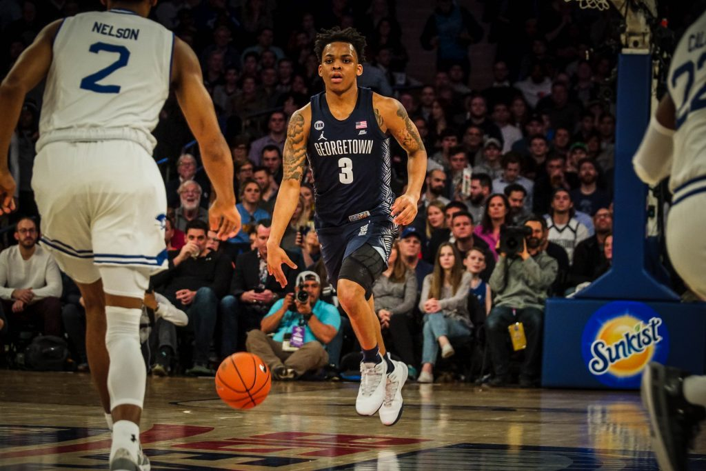 James Akinjo and the Hoyas Look to Make the Leap to National Contention