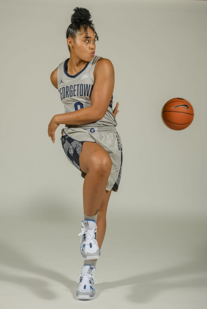 Seeking New Leadership, The Hoyas Turn to Veteran Brianna Jones