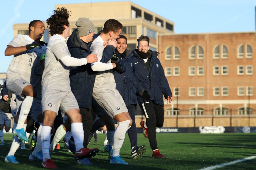 No. 3 Men's Soccer Advances to Big East Championship on Penalties