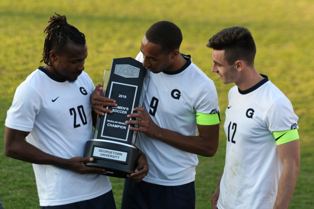 Men's Soccer Wins Big East Championship with Tie Against Creighton