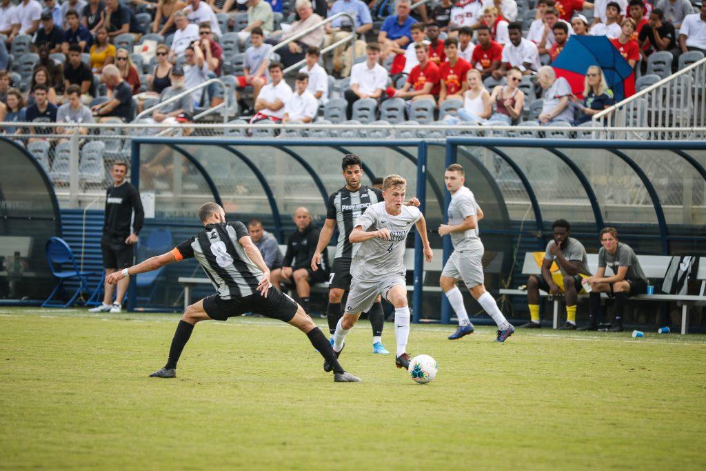 Men's Soccer to Battle for Big East Championship Sunday