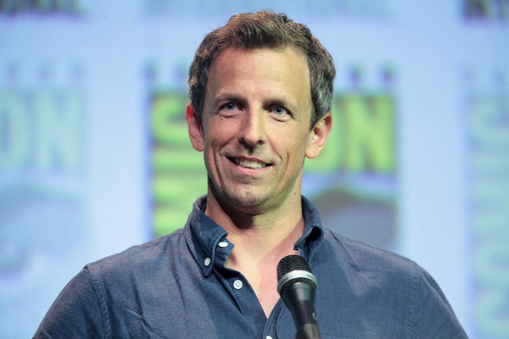 Seth Meyers's <i>Lobby Baby</i> is on Solid Ground